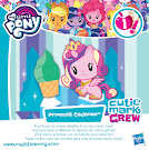 My Little Pony Series 1 Princess Cadance Cutie Mark Crew Card