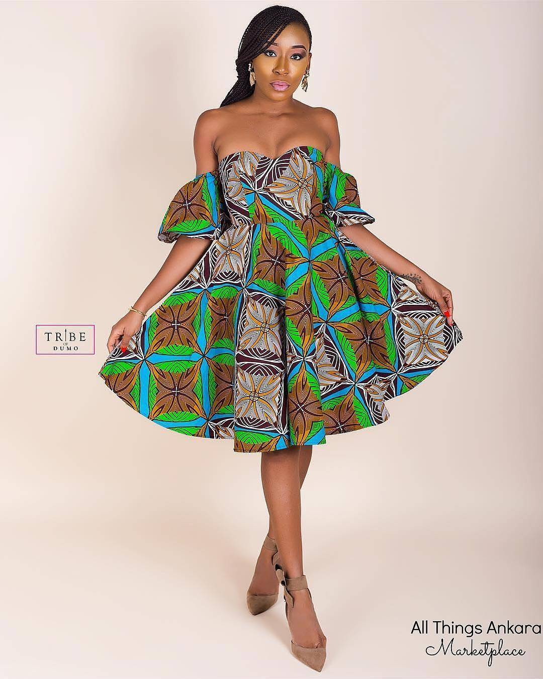 40+ Latest New Ankara Short Gown Styles 2018 for Bright Ladies ...