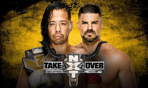 WWE NXT TakeOver San Antonio 28 Jan 2017
