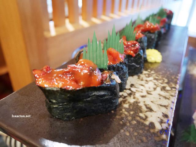 Chuka Idako Sushi