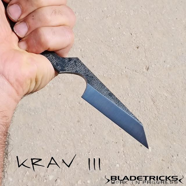 Badass shank knife reaper Bladetricks Krav maga III reverse grip