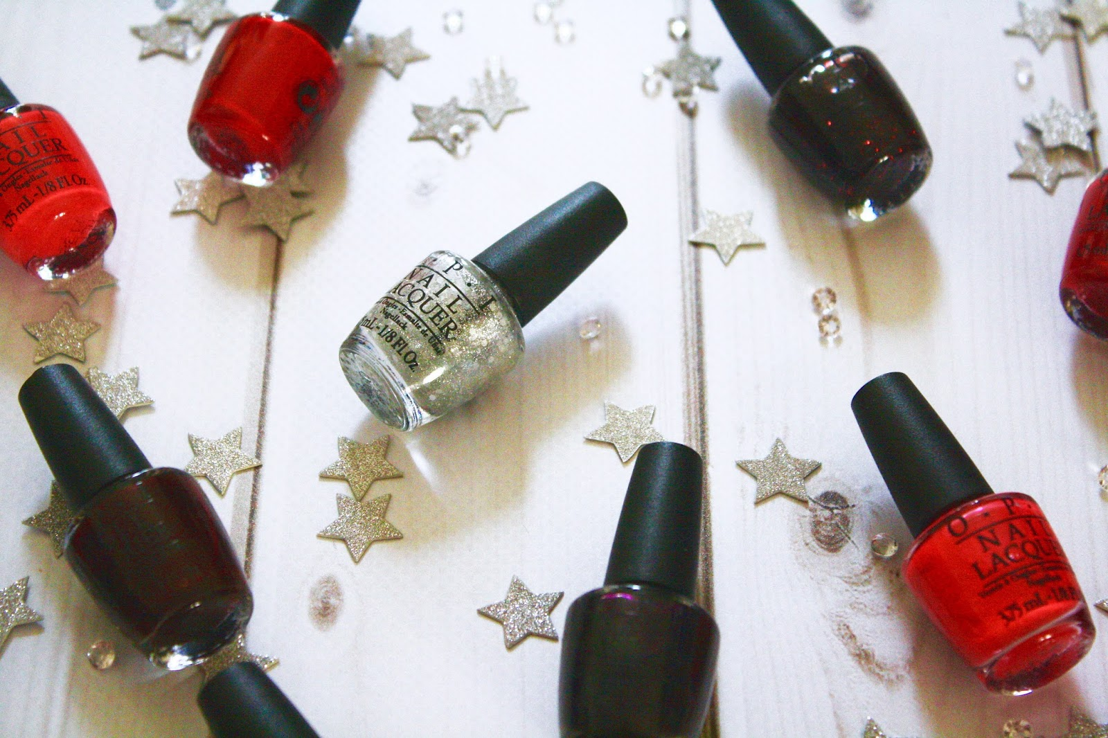Christmas Nail Colours by O.P.I