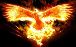 Phoenix-Feniks-Odrodzenie-Odnowa-Przemiana-Światło-Wiedza-Siła