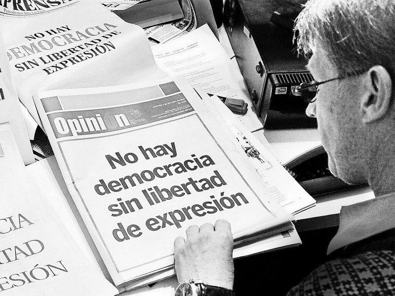 Sin ánimo de ofender: No hay democracia sin libertad de expresión – Gente  de Paz
