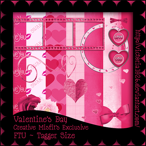 Creative Misfits Creations New Valentine S Scrapkits