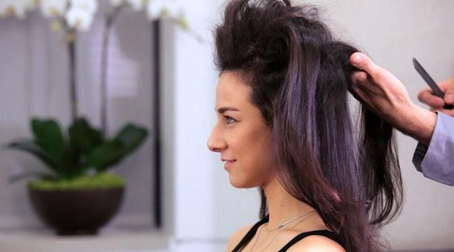 Membuat Rambut Lemas