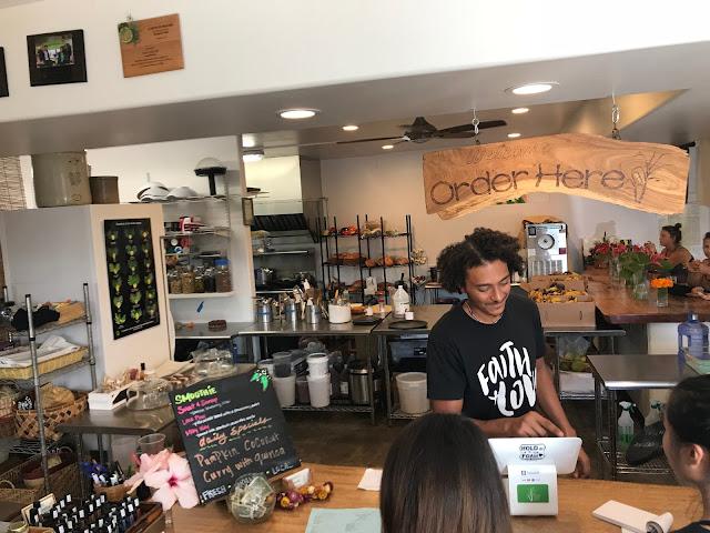 Sweet Cane Cafe, Hilo Hawaii Vegetarian Restaurant
