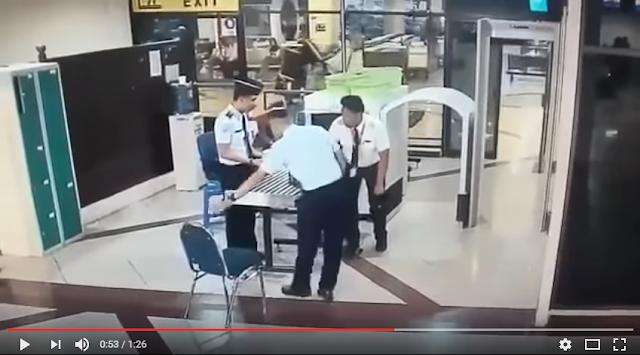 Beredar Rekaman CCTV Pilot Mabuk Dan Ngomong Ngelantur Saat Take Off  Ini Bukin Heboh Medsos.