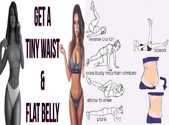 6 Fat Blasting Exercise To Slim Your Way To A Sexy Waist