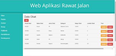 Source Code Sistem Informasi Rawat Jalan Dengan Laravel