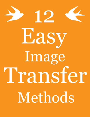 The Graphics Fairy, wax paper transfer, easy craft