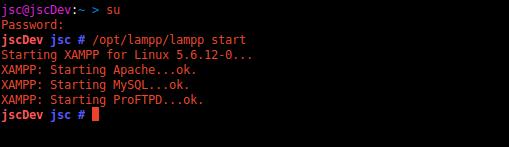 Gambar 1 - Tutorial Database dengan PhpMyAdmin