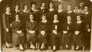 Formandas Sagrado Coração de Jesus 1949: Museu Antropológico de Ijuí
