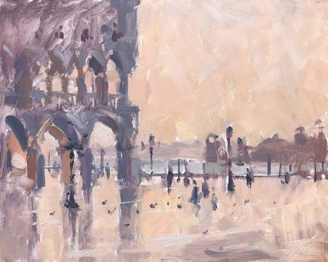 #371 'Painting St Marks Square, Venice' no.2