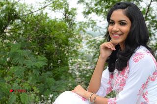 Actress Rithu Varma Pictures in Floral Dress at Pelli Choopulu Movie Press Meet  0146.JPG
