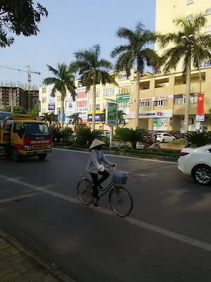 ゲアン省の省都 ヴィン(Vinh)