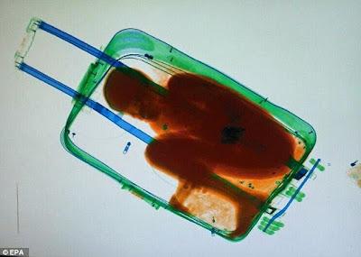 Nevjerovatno: pokušali dječaka prokrijumčariti unutar kovčega.