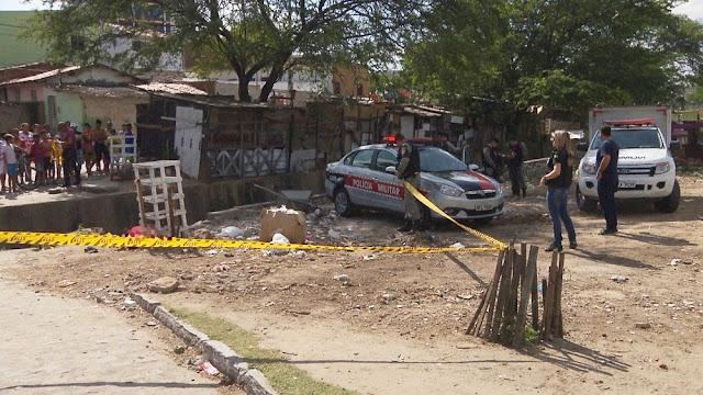Pedreiro é assassinado a tiros na Estação Velha, em Campina Grande