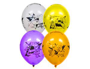 Воздушные шарики с черепашками ниндзя.