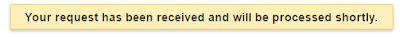 google search response