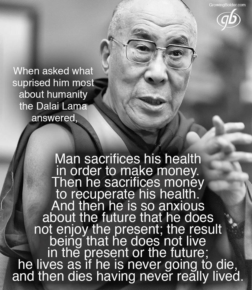 dalai lama citater om livet Frk. Fiks´ Notat : VISE ORD FRA DALAI LAMA dalai lama citater om livet
