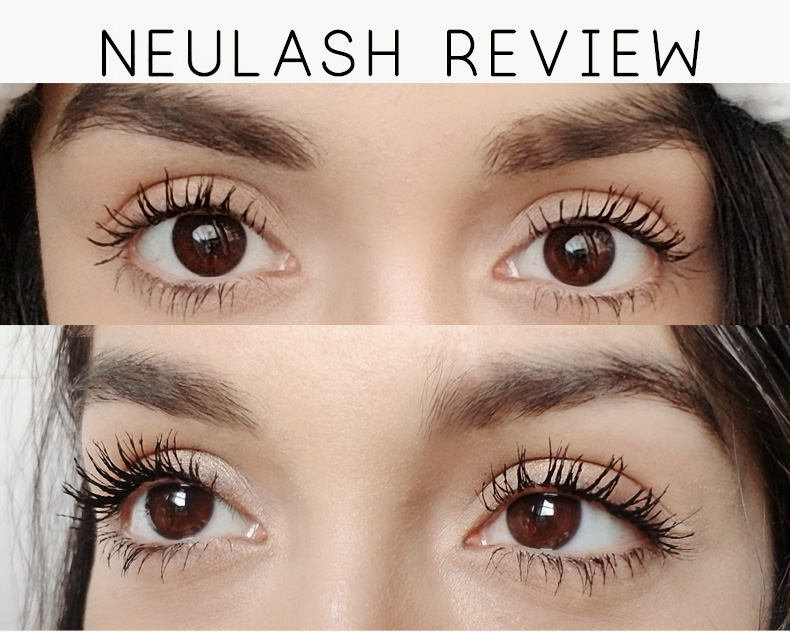 neulash eyelash serum before after review | how to get longer lashes