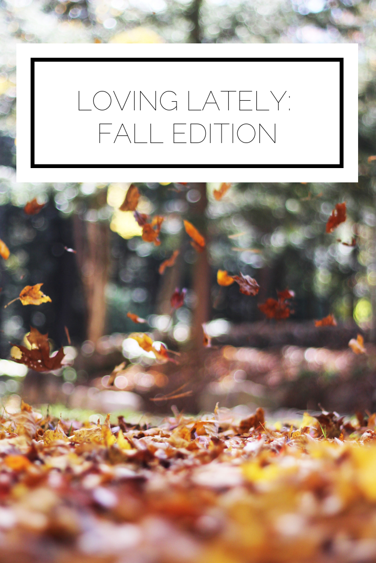 Click to read now or pin to save for later! Here is a list of everything I've been loving this fall