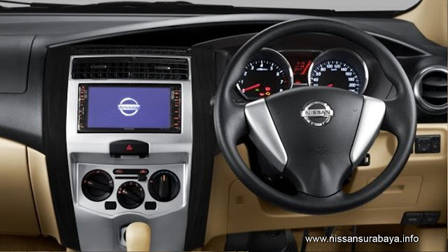 dashboard nissan grand livina