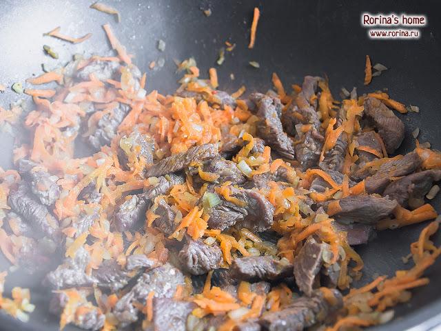Зажарка с мясом