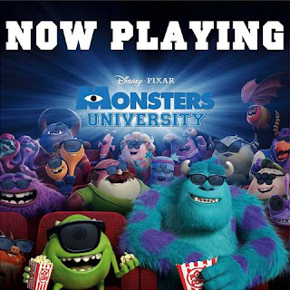 Monsters University Now Playing