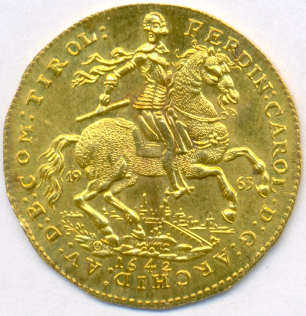 Austria Gold 2 Ducat Coin 1642 World Banknotes Amp Coins
