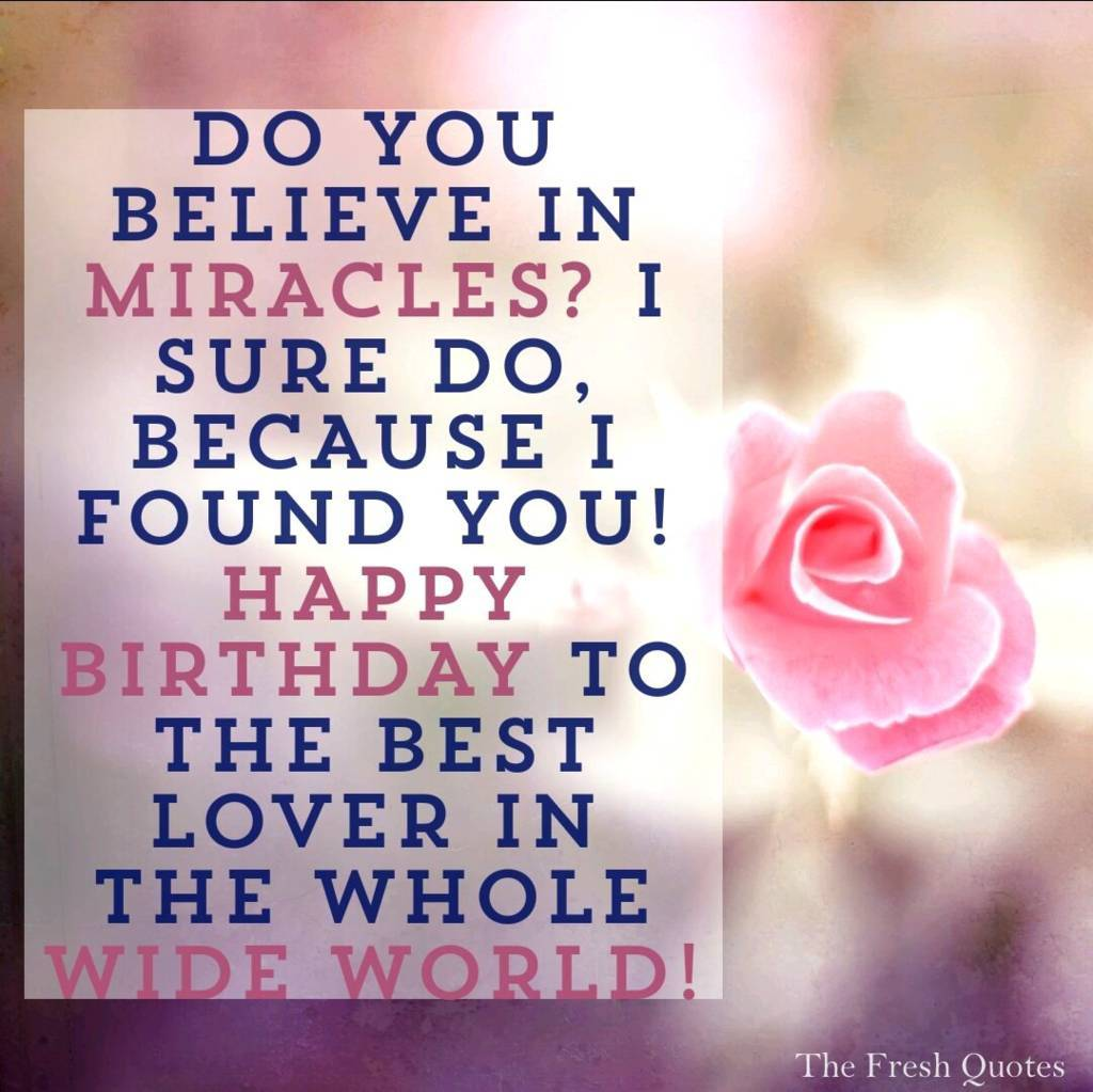 gallery for romantic quotes for boyfriend birthday