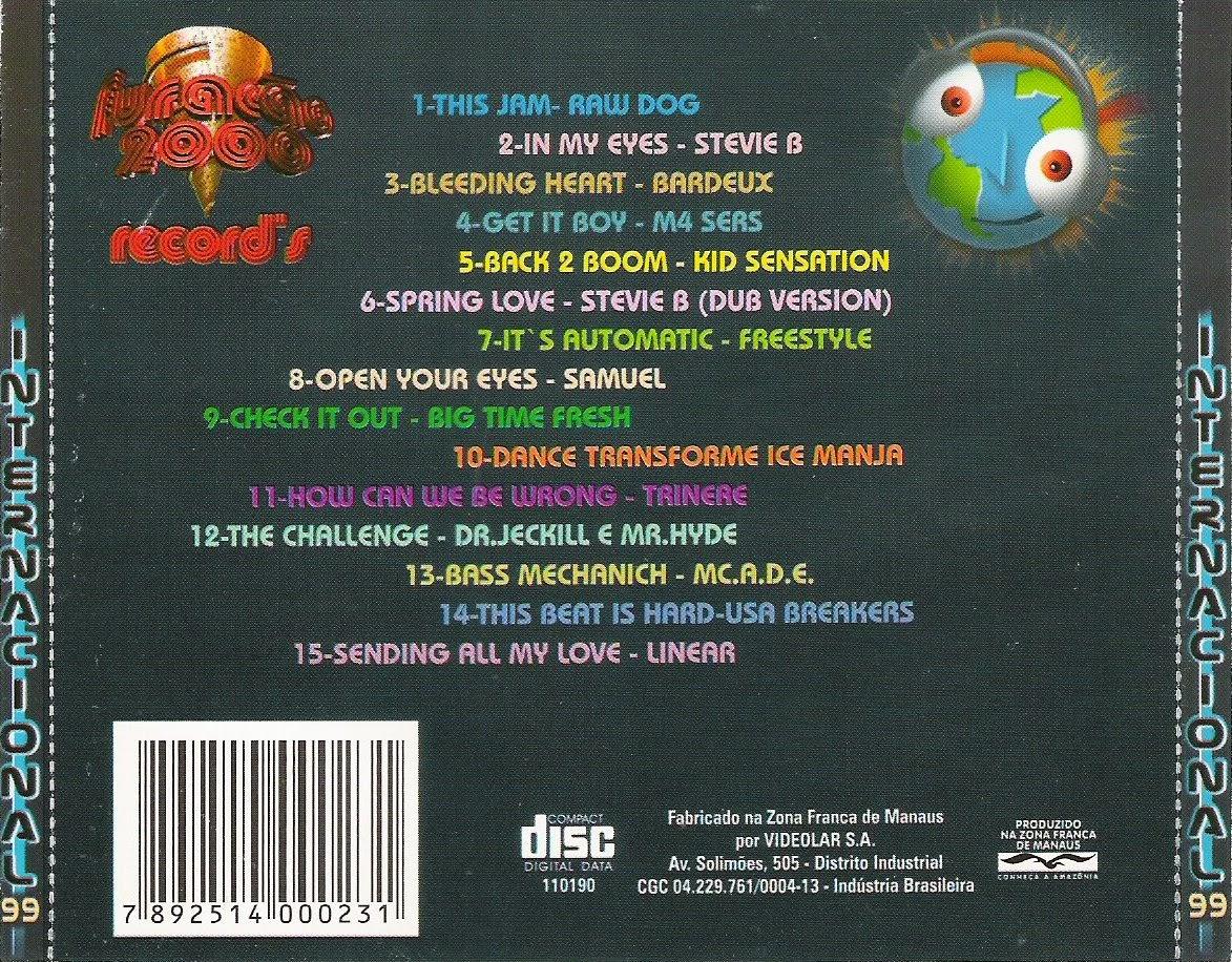 cd furacao 2000 internacional 99