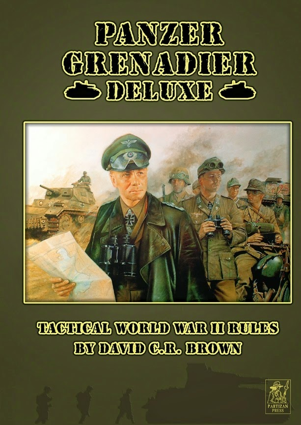 Sgt Steiner's Wargaming Blog: New Panzer Grenadier Deluxe first try