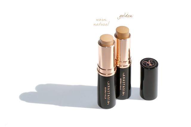 Anastasia Beverly Hills Stick Foundation in Warm Natural and Golden - The Beauty Look Book