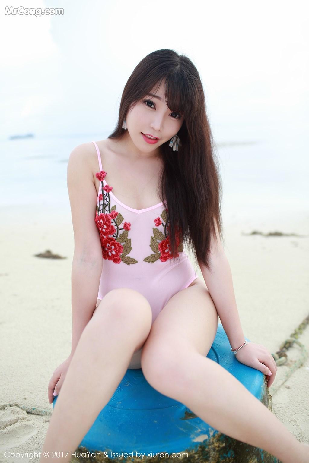 Image HuaYan-Vol.044-Booty-Zhizhi-MrCong.com-003 in post HuaYan Vol.044: Người mẫu Booty (芝芝) (62 ảnh)