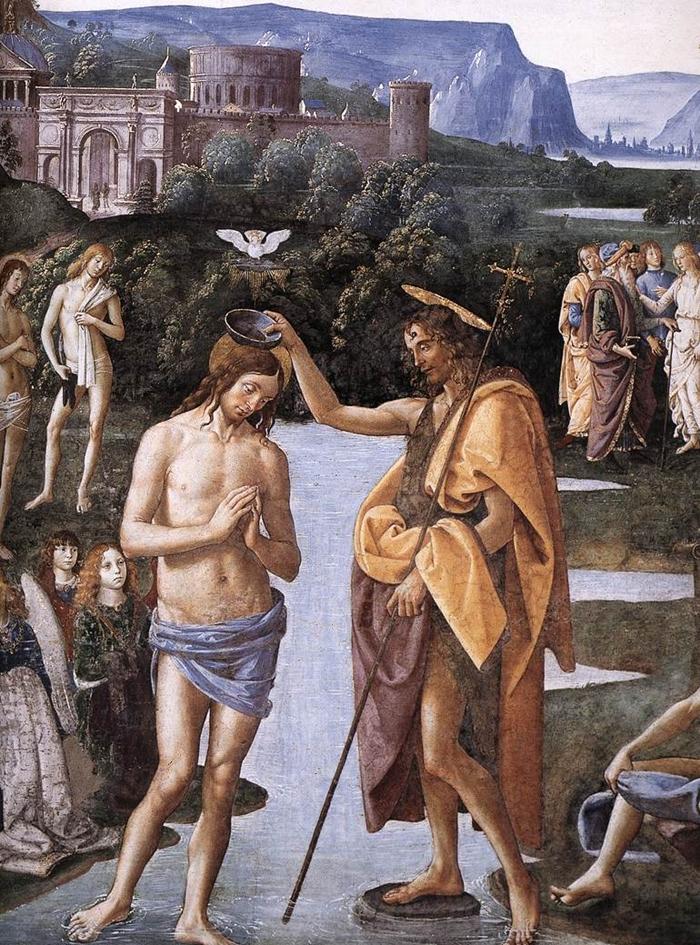 The Sistine Chapel | Perugino's frescoes