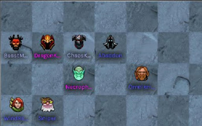 Đội nhóm 3 Hunter - 4 Knight - 2 Undead trợ giúp người chơi cai quản giai đoạn giữa round