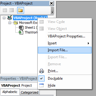 Cara Import UserForm di VBA Excel
