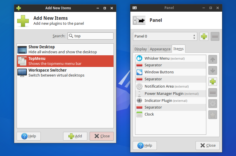 Use A Global Menu In Xubuntu Or Linux Mint Xfce Via A New