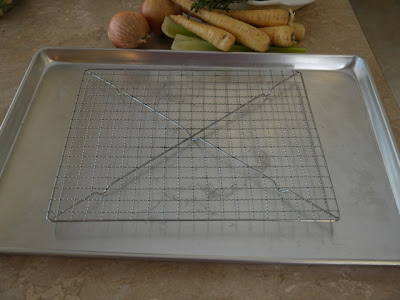 sheet pan with rack
