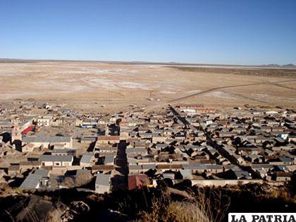 Pampa Aullagas: municipio orureño (Bolivia)