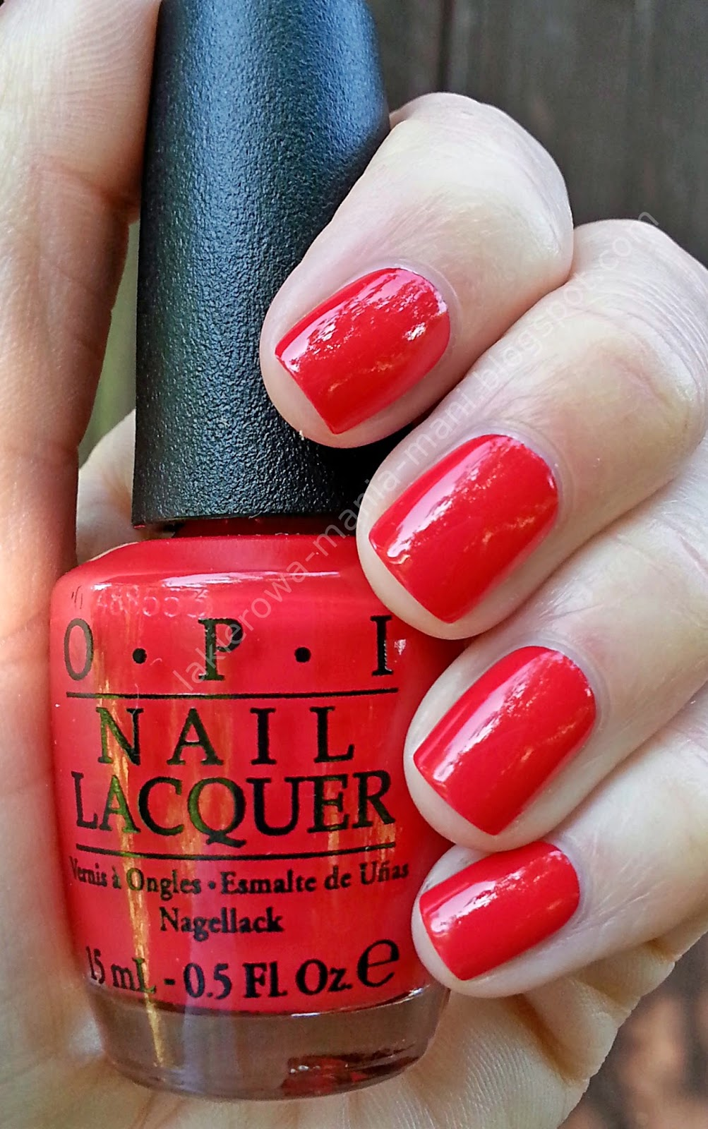 Opi Coca Cola Nail Polish Collection Partial: LAKIEROWA MANIA MANI Beauty Blog