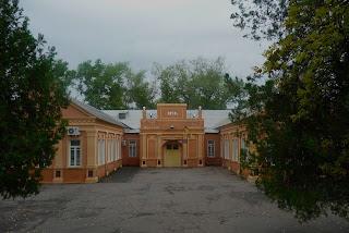 Новгородское. Парк. Клуб фенольного завода. 1950 г.