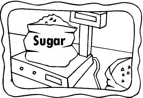 Coloring Pages Sugar Cubes Coloring Pages