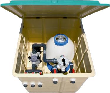 filter pump housing