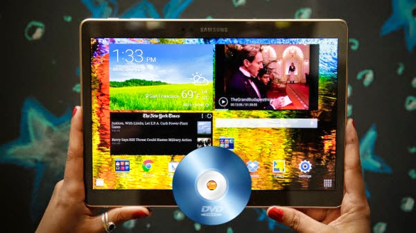 Play DVD movies on Galaxy Tab 10.5