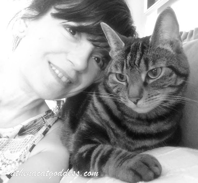 Black and White Sunday Selfie with Mum