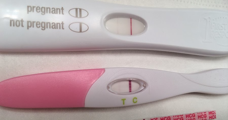 Early Faint Positive Pregnancy Test - Pregnancy Symptoms