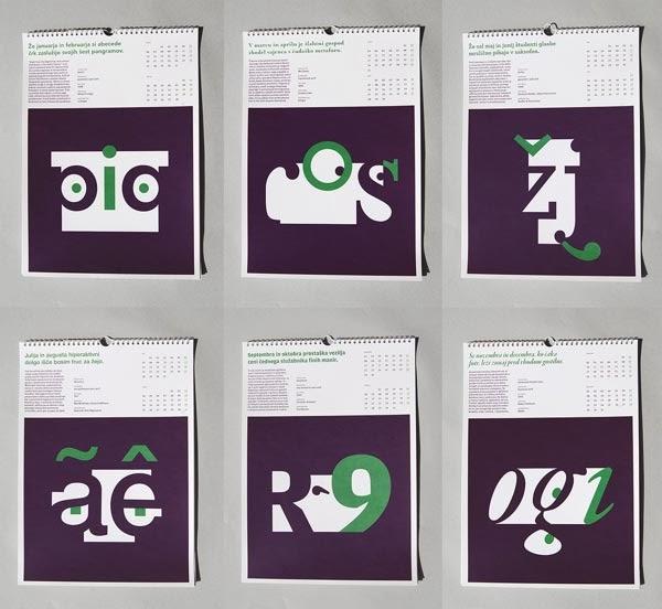 20 creative 2014 calendar designs jayce o yesta
